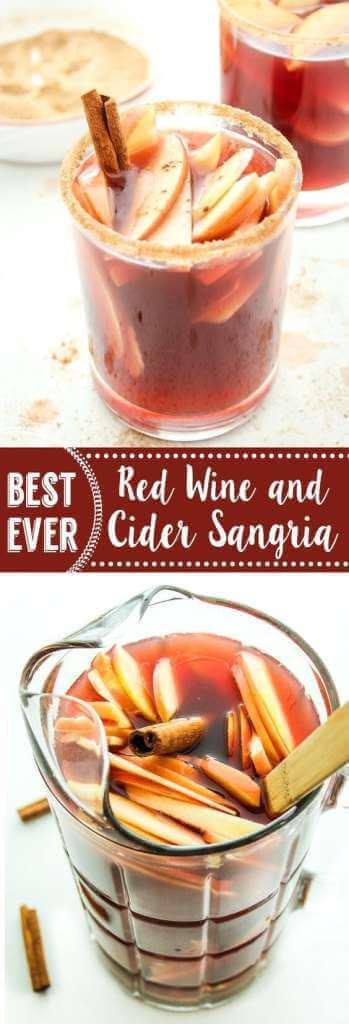 Red Wine & Cider Sangria