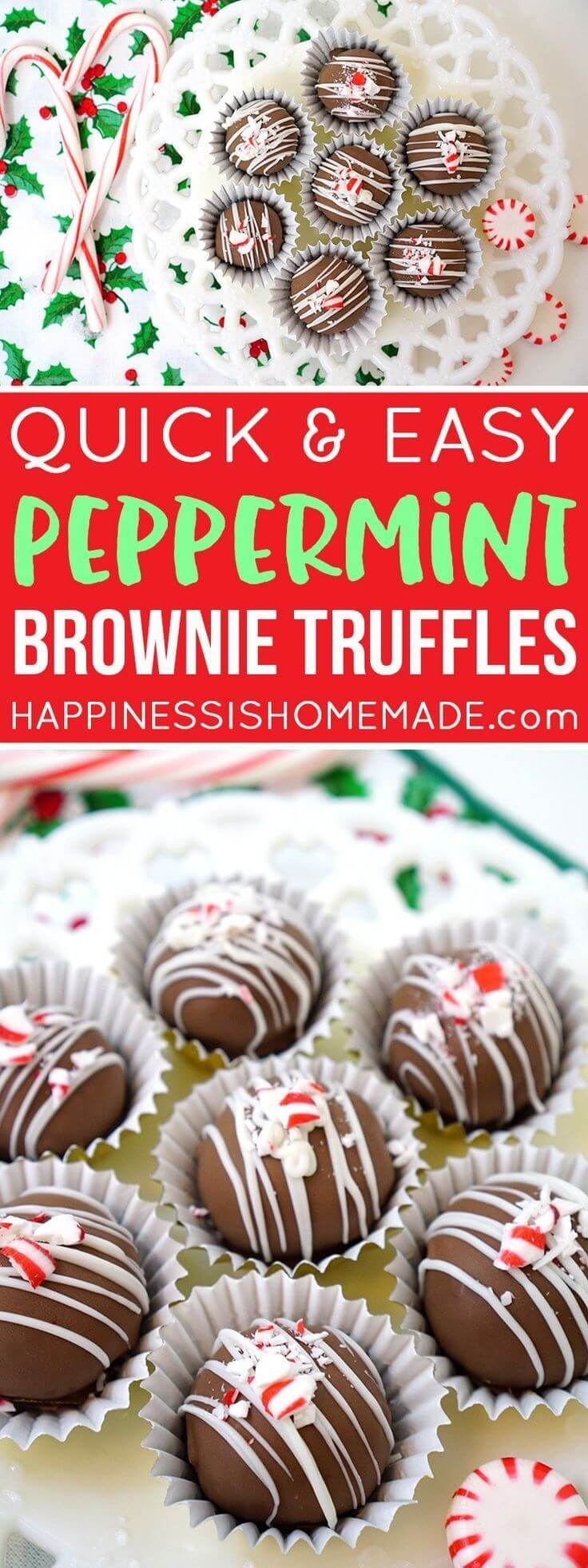 Quick and Easy Peppermint Brownie Truffles(1)