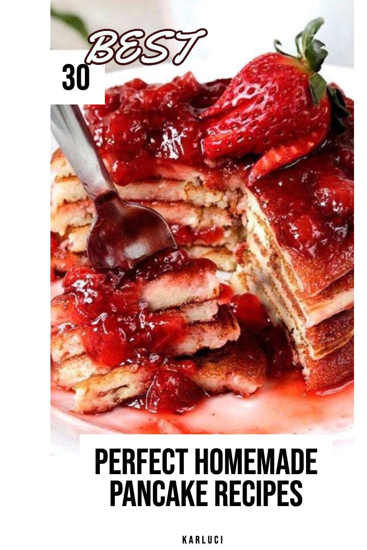 the best homemade pancake recipes