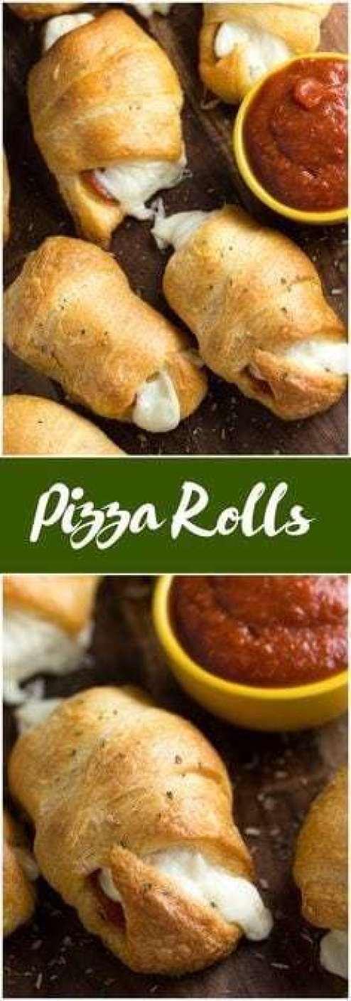Pizza Rolls - - 20 Best Croissant Sandwich Recipes
