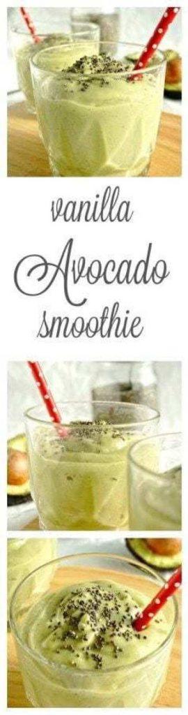 Vanilla Avocado Smoothie
