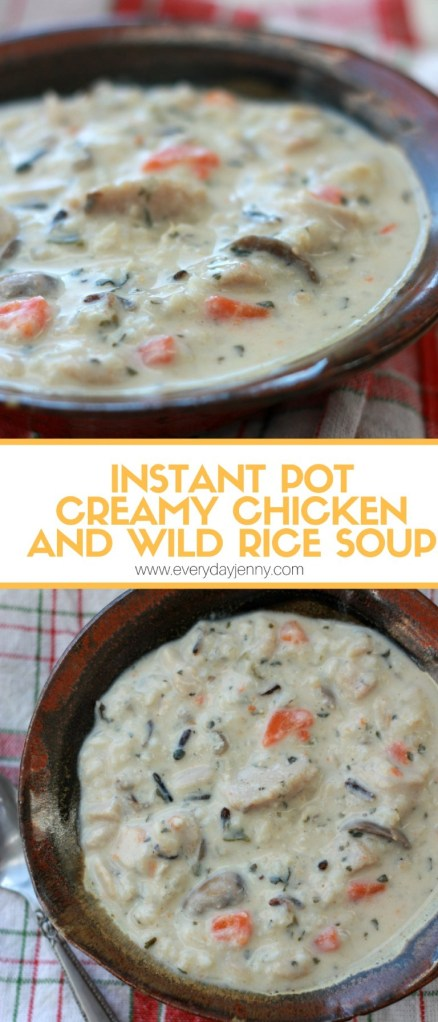 Creamy Chicken and Wild Rice Soup1